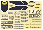 KYOTRD151 Kyosho Decal Set for the DBX Body