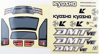 KYOTRD451 Kyosho DMT VE Decal Set