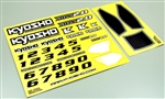 KYOTRD551 Kyosho DBX 2.0 Decal Set
