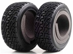 KYOTRT122 Kyosho DRX High Grip Rally Tires with Inner Sponge - Package of 2