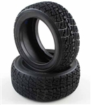 KYOTRT123 Kyosho DRX High Grip Rally Tires X-1 Super Soft - Package of 2