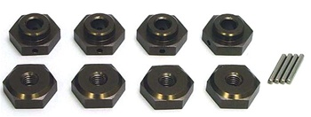 KYOTRW106 Kyosho 1/8 Wheel Stopper Set 17mm Hex Adapters - Package of 4
