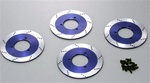 KYOTRW151BL Kyosho DRX Styled Brake Disk Rotors - Package of 4