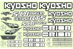 KYOUMD51 Kyosho Ultima RT5 Decal Set