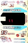 KYOUMD681 Kyosho Ultima DB Decal Set