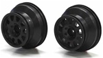 KYOUMH601BK Kyosho Ultima SC and SCR Black Wheels - Package of 2