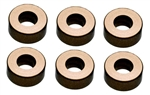 KYOW0143GM Kyosho Aluminum collar 3x7x3mm Gunmetal - Package of 6