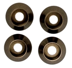 KYOW0148GM Kyosho M3 M3.0 Head Washer Gunmetal - Package of 4