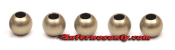 KYOW0202H Kyosho Inferno MP9 6.8mm Hard Anodized 7075 Aluminum Balls - Package of 5