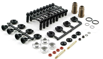 KYOW5301V Kyosho 13mm Velvet Coating Shocks - Package of 2