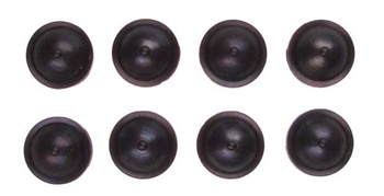 KYOW6006 Kyosho HC Shock Diaphragm Black - Package of 8