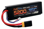 PHB2S520035CXT60APT 5200mAh 7.4V 2S 35C LiPo Battery with Hardwired XT60
