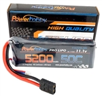 PHB3S520050CTRX 5200mAh 11.1V 3S 50C LiPo Battery with Hardwired Genuine