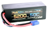 PHB4S520050CEC5HCS 5200mAh 14.8V 4S 50C LiPo Battery with Hardwired EC5