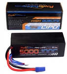PHB6S5000100CEC5 5000mAh 22.2V 6S 100C LiPo Battery w/ EC5 Connector