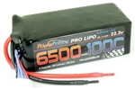 PHB6S6500100C 6500mAh 22.2V 6S 100C  LiPo Battery (no connector)