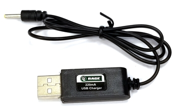RGR4137 500mA USB Charger; Spinner Missile X