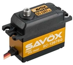 SAVSC1267SG Savox SC- 1267SG High Voltage Digital Servo .09/277 @ 7.4V