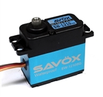 SAVSW1210SG Savox SW1210SG Waterproof Coreless Digital Servo .15/277.7 Aluminum Case