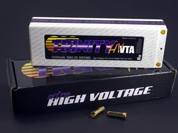 TRITEP2305 2S 7.4v 5000mah 100C High Voltage VTA Pack with 5MM