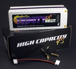 TRITEP2310 4S 14.8v 6000mah 60C 1/8 E-Buggy Pack with 5MM Bullets