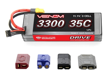 VNR15094 DRIVE 35C 3S 3300mAh 11.1V LiPo Hardcase Battery with UNI