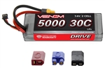 VNR15149 DRIVE 30C 2S 5000mAh 7.4V LiPo Hardcase ROAR Battery with UNI