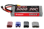 VNR1555 DRIVE 20C 2S 5000mAh 7.4V LiPo Hardcase Battery with UNI 2.0