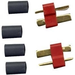 WSD1302 Deans Male Ultra Plug - Package of 2