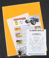 xxx main Flaming Skulls Paint Mask