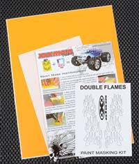 xxx main Double Flames Paint Mask