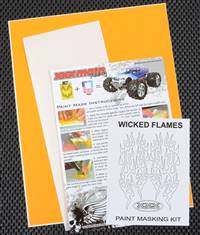 xxx main Wicked Flames Paint Mask