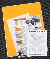 xxx main Razor Flames Paint Mask