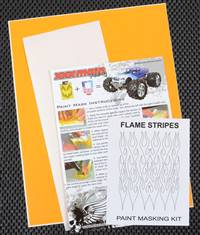 xxx main Flame Stripes Paint Mask