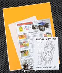 xxx main Tribal Mayhem Paint Mask
