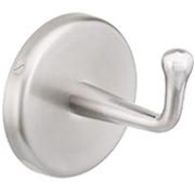 Hook - Satin chrome, concealed mount