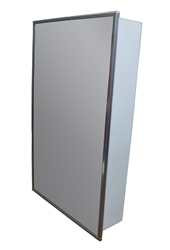 Medicine Cabinet - Surface Mounted- 16in. x 36 in. - Four Adjustable Glass Shelves