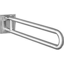 Swing Up Grab Bar With Sliding Locking Mechanism