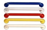 Color Powder Coated Grab bar - 12 inch, 1.OD