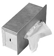 Recessed Facial Tissue Dispenser- rectangular