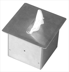 Facial tissue dispenser box- square