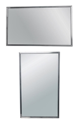 Universal Horizontal-Vertical Mount Commercial Mirror 36x24