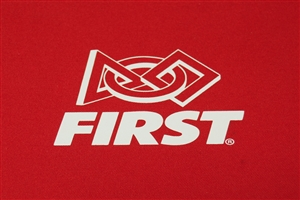 FIRST Logo Iron-on (Set of 8)