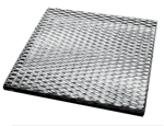 "Stainless Steel Wax Tray 12"" x 12"" x 3/4"" for Fiber Burnout Furnace"