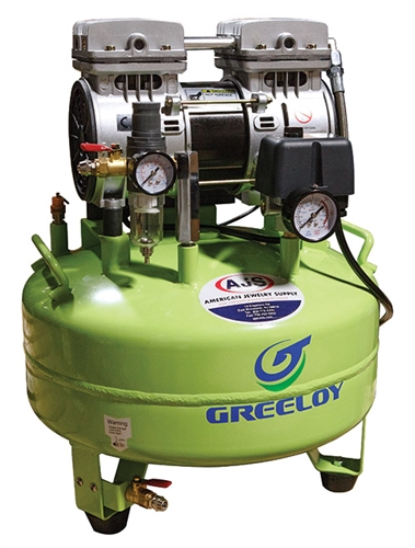 Oil Free Air Compressor >> Greeloy Silent Oil Free Air Compressor