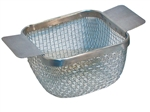 "Stainless Steel Basket for Ultrasonic Cleaner | FOR 1/2 GAL | 5-1/4"" x 4-3/4"" x 2"""