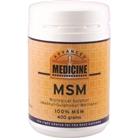 Advanced Medicine MSM 400g