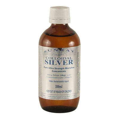 Colloidal Silver: Pure Ultra Strength Microfine Concentrate