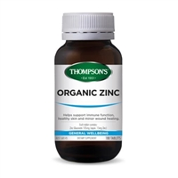 Thompson's Organic Zinc 180 Caps