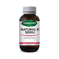 Thompson's Natural Vitamin E 500iu - 100 caps